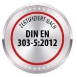 Nolting Holzfeuerungstechnik Zertifizierung DIN EN 303-5:2012
