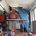 Nolting Holzfeuerungstechnik GmbH Produktionsstätte Innenraum