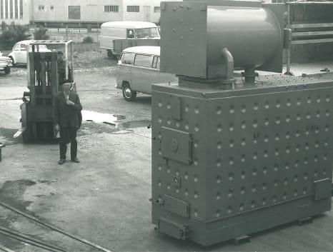 Sonderkonstruktion Dampfkessel Nolting