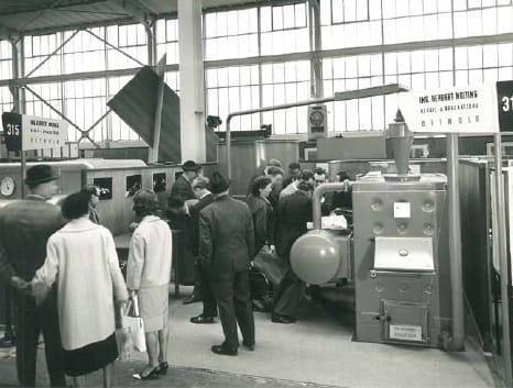 Nolting auf der Hannover Messe in den 60er Jahren