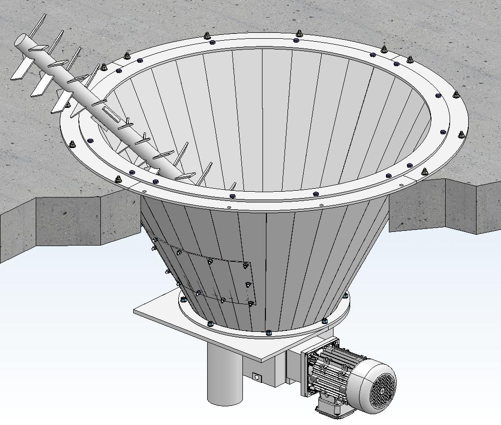 Siloaustragung S 151 Nolting Holzfeuerungstechnik GmbH Modellbild
