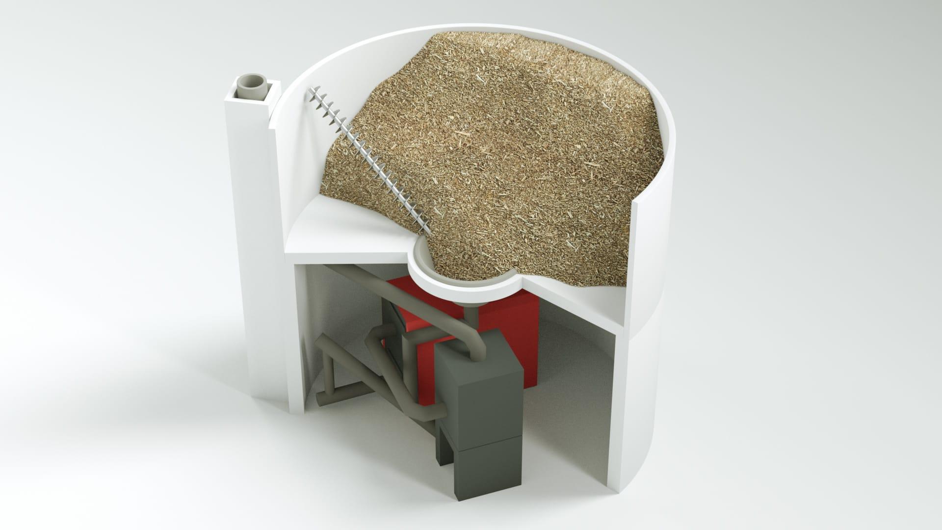 Modell bild Nolting Holzfeuerung System